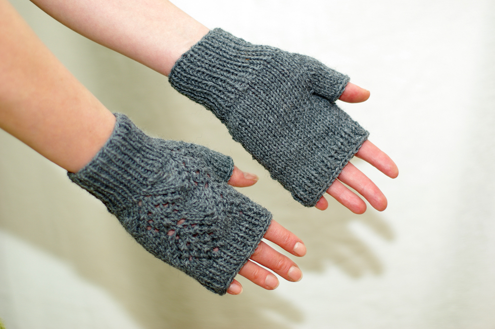 Knitting Increases For Thumb Gusset : The thumb gusset making pille