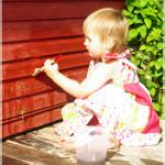 Mänge lastele: veega joonistamine