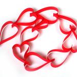 Ideid sõbrapäevaks – paberist südamed