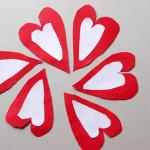 Meisterdamine sõbrapäevaks – paberist südamed