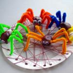 Meisterdame lastega – punume ämblikuvõrku
