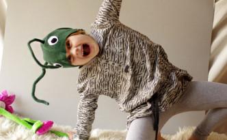 rohutirtsu kostüüm, grasshopper costume