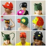 Imeloom – fliisist kostüümimütsid lastele ja lapsemeelsetele