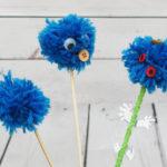 Kuidas teha tutti ehk meisterdame siniseid lilli