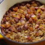 Suures ahjus toidu valmistamine