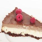 Triibuline kakao-juustukook