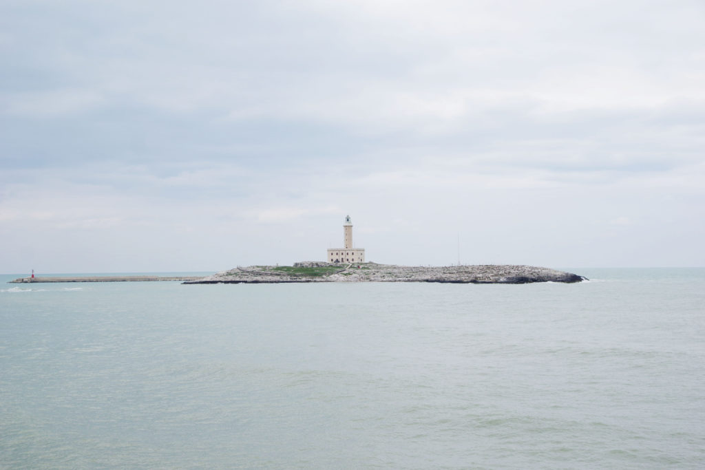 Vieste lighthouse.