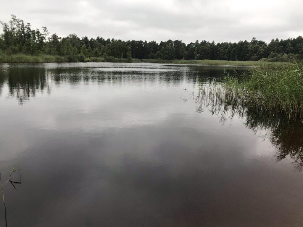 Ristisoo järv Kaberneeme poolsaarel.